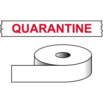 Spectrum Industrial Quarantine - printed tape (50mm x 66m)