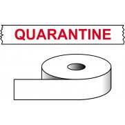 Quarantine - printed tape (50mm x 66m)