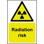 Radiation risk - SAV (200 x 300mm)