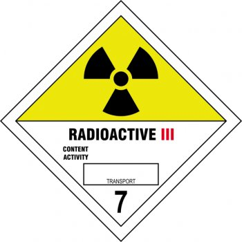 Spectrum Industrial Radioactive III 7 - SAV Diamond (100 x 100mm)