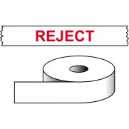 Reject - printed tape (50mm x 66m)