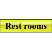 Rest rooms - POL (200 x 50mm)