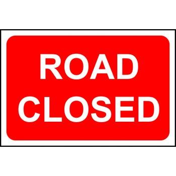Spectrum Industrial Road closed - RPVC (600 x 400mm)