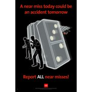 RoSPA Safety Poster - A near miss today... (Paper)