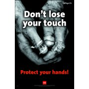 RoSPA Safety Poster - Dont loose your touch (Paper)