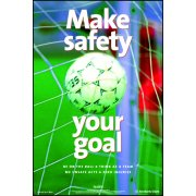RoSPA Safety Poster - Make safety your goal (Paper)