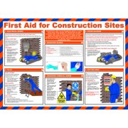 Safety Poster - First Aid for Construction Sites