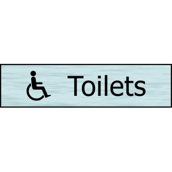 Spectrum Industrial Toilets (with disabled symbol) - SSE (200 x 50mm)