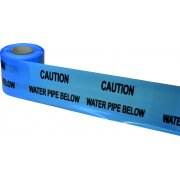 Underground Tape 150mm x 365mtrs Water pipe below
