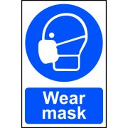 Wear mask - PVC (200 x 300mm)
