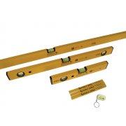 Stabila 70-2 Double Plumb Spirit Level Pack 30cm, 60cm & 180cm