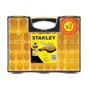 Stanley Storage Pro Organisers Deep & Shallow, Twin Pack