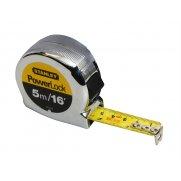 Stanley Tools Powerlock Classic Tape 5m/16ft (Width 19mm)