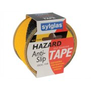 Sylglas Anti-Slip Tape 50mm x 18m Black & Yellow