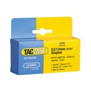 Tacwise 53 Light Duty Staples 14mm (Type JT21, A) Pack 2000