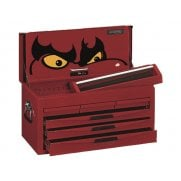 Teng 8 Series 6 Drawer Top Box, Red