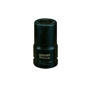 Teng Deep Impact Socket Hexagon 6 Point 3/4in Drive 27mm