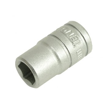Teng Hexagon Socket 6 Point Regular 1/4in Drive 6mm