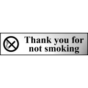 Thank you for not smoking - CHR (200 x 50mm)