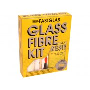 U-Pol Fastglas Resin & Glass Fibre Kit Large
