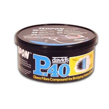 U-Pol P40 Glass Fibre Repair Paste Tin 250ml