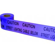Underground Tape 150mm x 365mtrs Street lighting (Purple)