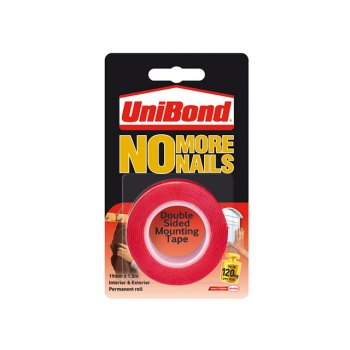 Unibond No More Nails Roll Interior / Exterior 19mm x 1.5m