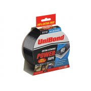 Unibond Powertape Black 50mm x 25m + 20% free