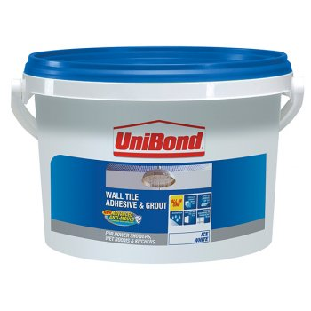 Unibond Tile On Walls Anti-Mould Ready Mix Adhesive & Grout Large