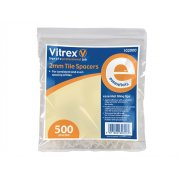 Vitrex 102000 Essential Tile Spacers (500) 2mm