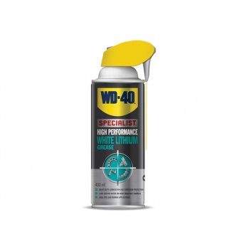 WD40 WD-40 Specialist White Lithium Grease Aerosol 400ml