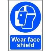 Wear face shield - PVC (200 x 300mm)