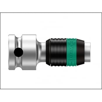 Wera 8784 B1 Zyklop Bit Adaptor 3/8in Square Drive To 1/4in Hex Bits: Model No- 5003590001