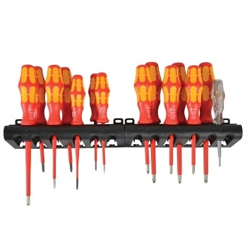 Wera Bigpack 100 VDE Screwdriver Set SL / PH / PZ / TX