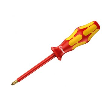 Wera Kraftform 162i VDE Insulated Screwdriver Phillips PH2 x 100mm