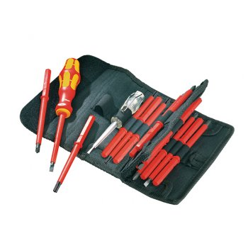 Wera Kraftform VDE Kompakt Screwdriver Set of 16 SL PH PZ TX