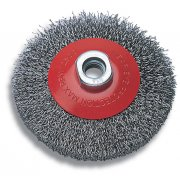 Wolfcraft 2705 Conical Wire Brush - M14 Thread