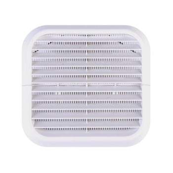 Xpelair Wall Grille White Square 100mm