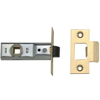 Yale Locks M888 Tubular Mortice Latch 76mm 3in Polished Brass Pack of 1
