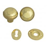 Yale Locks P405 Rim Knob Polished Brass Finish