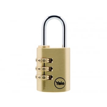 Yale Locks Y150 30mm Brass Combination Padlock