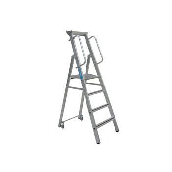 Zarges Mobile Mastersteps Platform Height 1.32m 5 Rungs