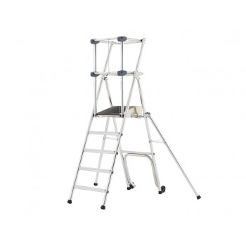 Zarges Profort Work Platform Platform Height 0.93m 4 Rungs