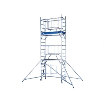 Zarges Reachmaster ARG Tower Working Height 6.55m Platform Height 4.5m