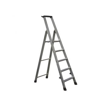 Zarges Trade Platform Steps, Platform Height 1.05m 5 Rungs