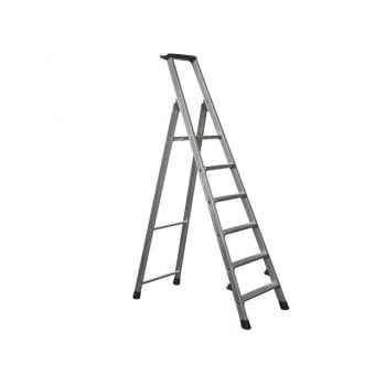 Zarges Trade Platform Steps, Platform Height 1.26m 6 Rungs