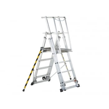Zarges ZAP 1 Access Platform Platform Height 1.0/1.3/1.6/1.8m 4 - 7 Rungs