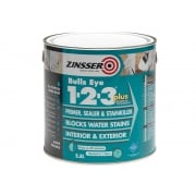 Zinsser 123 Bulls Eye Plus Primer / Sealer Paint 2.5 Litre