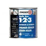 Zinsser 123 Bulls Eye Primer / Sealer Paint 1 Litre