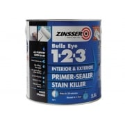 Zinsser 123 Bulls Eye Primer / Sealer Paint 2.5 Litre